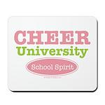 Cheer U School Spirit Cheerleading Mousepad