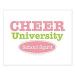 Cheer U School Spirit Cheerleading Poster