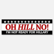 Anti Hillary Clinton 2016 Bumper Car Car Sticker
