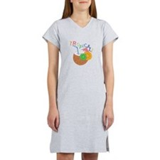 Tropical Women's Nightshirt