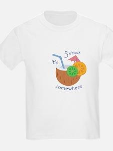 5 Oclock Somewhere T-Shirt