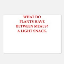 horticulture joke Postcards (Package of 8)
