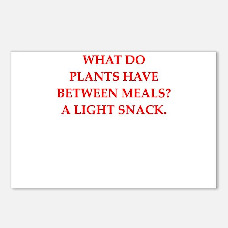 horticulture joke Postcards (Package of 8)