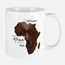 Africa was Born in Me Mug