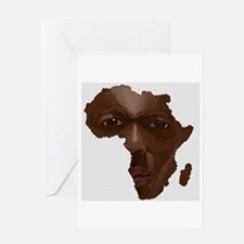 Africa was Born in Me Greeting Card