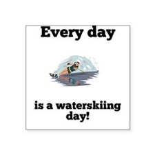 Every Day Is A Waterskiing Day Sticker