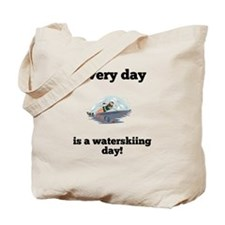 Every Day Is A Waterskiing Day Tote Bag