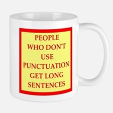 punctuation Mugs