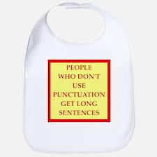 punctuation Bib