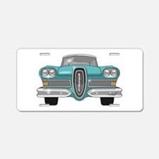1958 Ford Edsel Aluminum License Plate