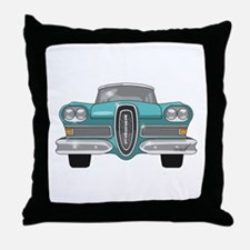 1958 Ford Edsel Throw Pillow