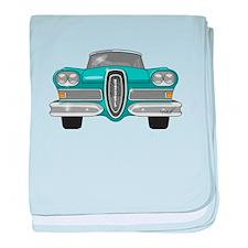 1958 Ford Edsel baby blanket