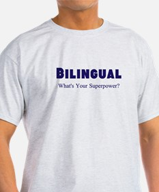 Bilingual Superpower T-Shirt