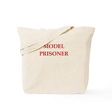 model prisoner Tote Bag