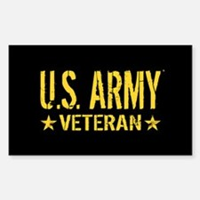 U.S. Army: Veteran (Gold Stars Decal