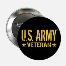 "U.S. Army: Veteran (Gold St 2.25"" Button (10 pack)"