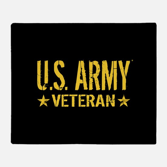 U.S. Army: Veteran (Gold Stars) Throw Blanket