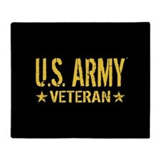 U.S. Army: Veteran Throw Blanket