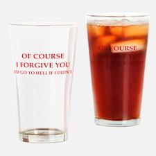 forgiveness Drinking Glass