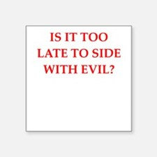 evil Sticker