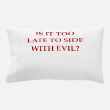 evil Pillow Case