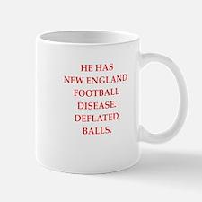 new england football Mugs