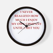 company Wall Clock