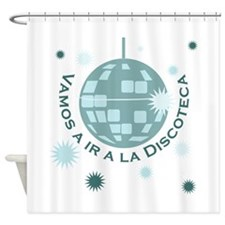 Discoteca Shower Curtain