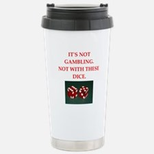 gambling Travel Mug