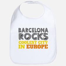 Barcelona Rocks Bib