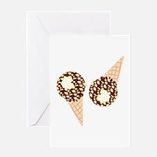 Ice Cream Cones Greeting Cards