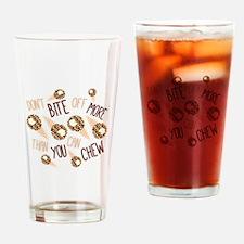 Bite Off Drinking Glass