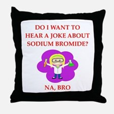 chemistry Throw Pillow