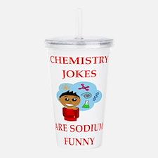 chemistry Acrylic Double-wall Tumbler