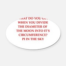 astronomy Oval Car Magnet