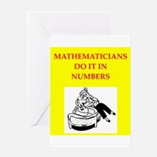 mathematician Greeting Cards