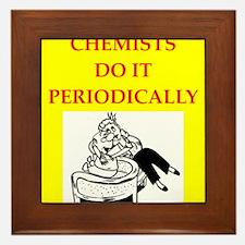 chemistry Framed Tile