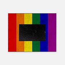 Vintage Rainbow Gay Pride Flag Picture Frame