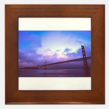 The Bay Bridge Framed Tile