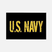 U.S. Navy: Black & Gold Magnets
