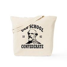 Old School Confederate Tote Bag