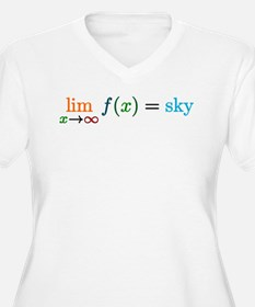 Sky's the limit Plus Size T-Shirt