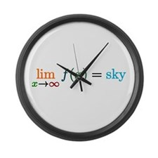 Sky's The Limit Large Wall Clock