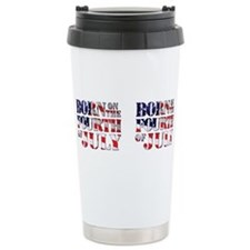 Cute Flag day Travel Mug