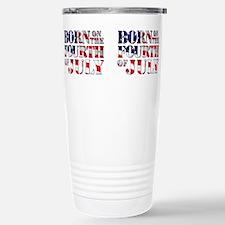 Cute Independence day Travel Mug