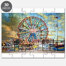 Wonder Wheel Park Puzzle