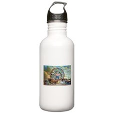 Wonder Wheel Park Water Bottle