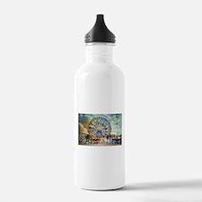 Wonder Wheel Park Water Bottle