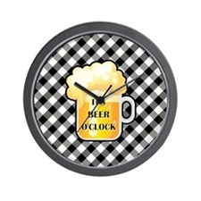 IT'S BEER O'CLOCK Wall Clock