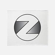 Z Throw Blanket